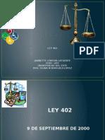 ley 402