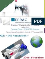 Europe-10 Years After NIIF Adoption