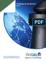 Produkt KatalogPipelifeGas Stop2014 ES GAS STOP ACOMETIDAS