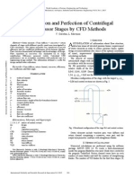 Investigation and Perfection of Centrifugal Compressor Stages by CFD Methods