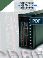 Catalogo Controlador CD 600