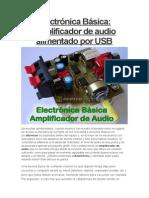 Amplificados de Audio Por Usb