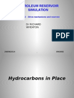 Lecture 2 Drive Mechanisms and Reserves