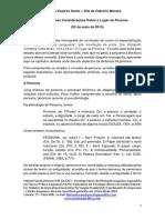 75 - Algumas Considerações Sobre o Lugar Da Persona - Fabricio Moraes