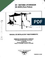 Manual Aturdidor y Degollador de Pollos