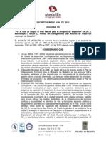 Decreto Nro 1960 de 2012 Final
