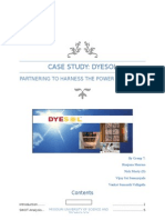 DYESOL Case Analysis Report Final
