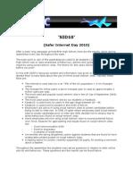 Ictac Memo Sid10 Final Report