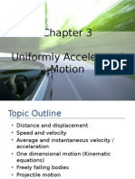 Chapter 3 - Motion