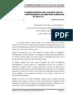 Adaptación Cinematográfica de La Novela Cecilia Valdés Como Reforzamiento de Identidad Cubana en El Siglo XX