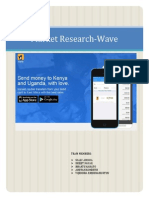 Market Research Analysis for WAVE