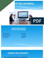 Presentación Marketing Bursátil - Grupo No. 2 - MER 113 - Sección 03