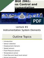 Lecture #2 (Instrumentation System Elements) v1