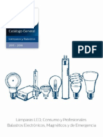 Catálogo General de Lámparas y Balastros 2015 2016