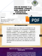 Medición de Riesgo e Incertidumbre, Fondos y Clases de Fondos de Inversión, Análisis Del Portafolio de Inversiones.