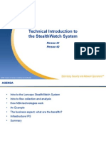 Technical Introduction to the StealthWatch System Rev1