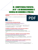 Unmsm Trabajo Nâ_ 1 Micro II Competen Perfecta 2015 1 210