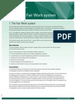 The Fair Work System