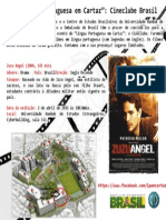 Língua Portuguesa Em Cartaz - Cineclube - Zuzu Angel