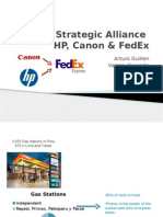 HP Canon & FedEx