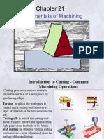 Ch21 Fundamentals of Cutting