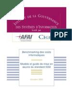 2006 - Benchmarking Des Couts Informatiques - Modele Et Guide de Mise en Oeuvre IGSI Pilotage Des Couts