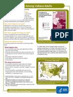 Insufficient Sleep Fact Sheet 2011 In