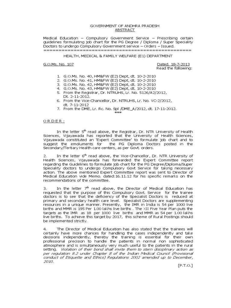 01 | Residency (Medicine) | Academic Degree