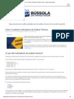 Como Combinar Indicadores de Análise Técnica - Blog de Investimentos.pdf