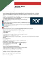 Sbi Po 2015 Preliminary Model One -- English _ Bank Exams