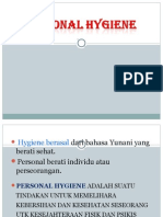 POWER POINT TENTANG Personal Higiene