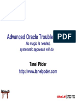Advanced Oracle Troubleshooting