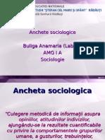 Ancheta Sociologica Buliga Anamaria(Labiuc)