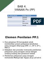 standar pelayanan pasien PP