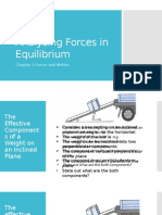 Forces in Equilibrium 2
