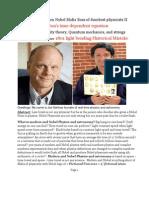 Nobel committee Lars Brink Light bending error