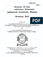 Annals of the Bhandarkar Oriental Research Institute Vol. 12, year 1930Vol_12_1930