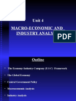Unit 4 MacroeconomicAnd IndustryAnalysis