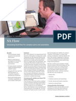 NX Flow Simulating fluid flow for complex parts and assemblies