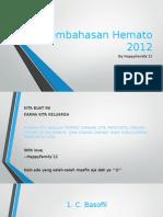 Pembahasan Hemato 2012