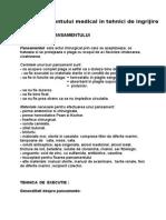 Rolul Asistentului Medical in Tehnici de Ingrijire