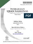 Pembahasan Soal UN Matematika Program IPA SMA 2014 Paket 2 (Full Version)