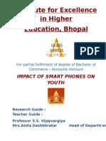 Impact of Smart Phones on Youth by Namita Saini