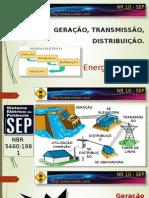 1 - Geração, Transmissão, Distribuição e Utilização de Energia