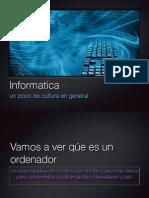Iniciacion a la informatica