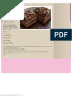 Čokoladne Kocke - Recept Sa Slikom _ TorteKolaci.com