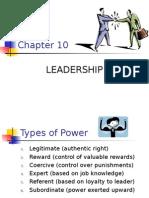 MG 204-Principles of Management-Chapt10