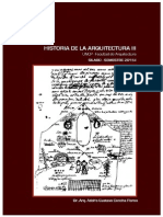 Silabo Historia de La Arquitectura III - 2015-i