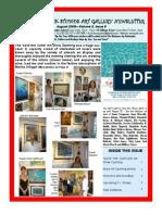 Doongalik Studios August 2009 Art Newsletter