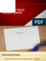 kebijakan fiskal